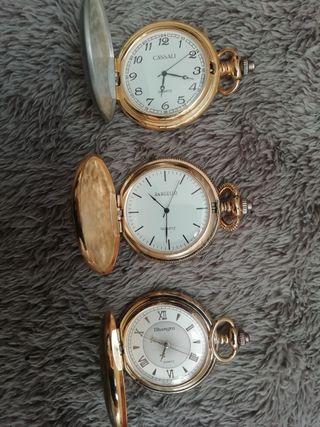 Relojes de pulsera vintage.