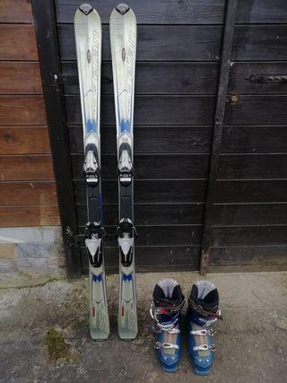 Esquís Norheim y Botas Head