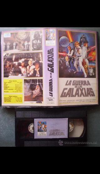 LA GUERRA DE LAS GALAXIAS VHS VERSION DE USO NO CO