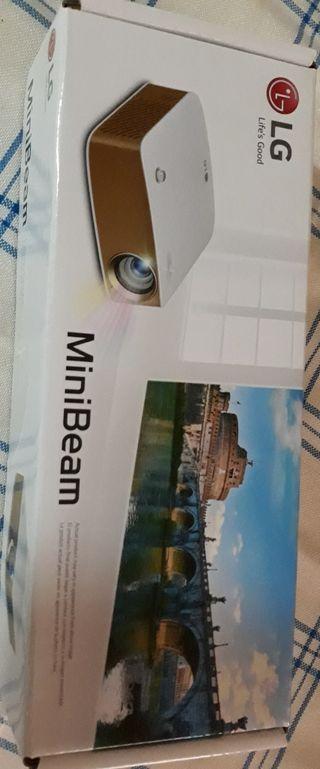 Mini proyector lg