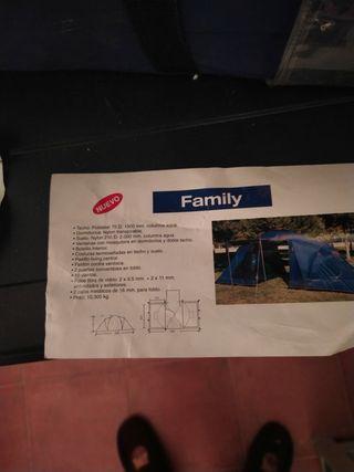 Tienda de campaña altus family