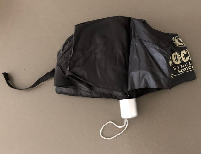 Parapluie de poche Noir Knockando