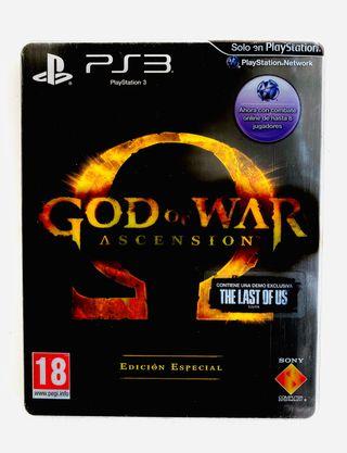 GOD OF WAR ASCENSION EDICION ESPECIAL - ps3