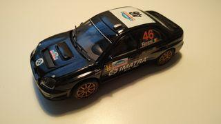 "Subaru Impreza WRC Scalextric ""Rossi"""