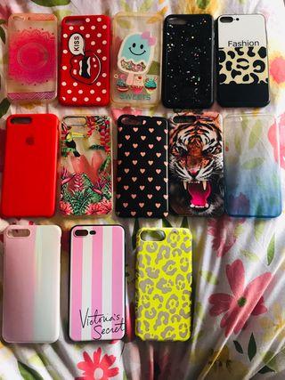 Lote fundas iPhone 7 Plus