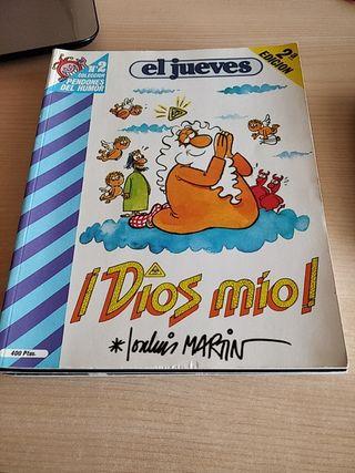 El Jueves - DIOS MÍO - José Luis Martín - 5 Cómics