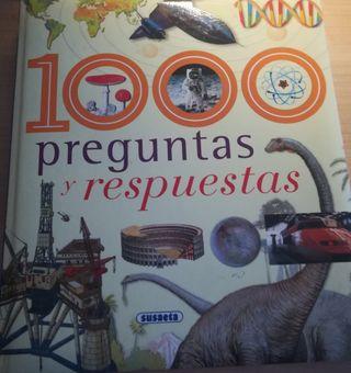 """Libro infantil """"1000 preguntas y respuestas"""""""