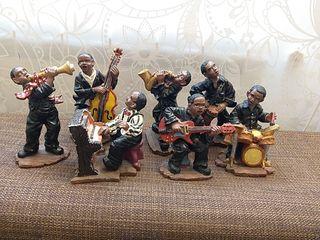7 figuras músicos banda