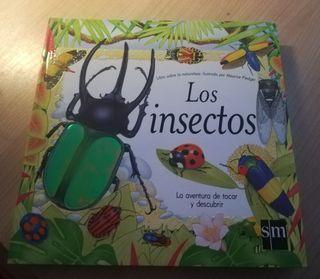 Precioso libro infantil sobre los insectos