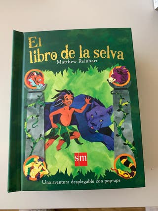 Libro pop ups El Libro de la Selva