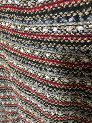 Jersey rayas de punto estilo Chanel M/L Sweewë