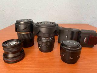 Kit de fotografía para cámaras Canon