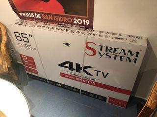 Nuevo television 65 pulgadas y 4k smart