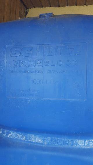 depósito de agua potable 1000litros