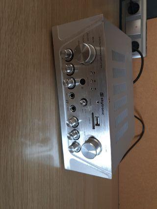 Amplificador /karaoke/usb/mp3, etc...