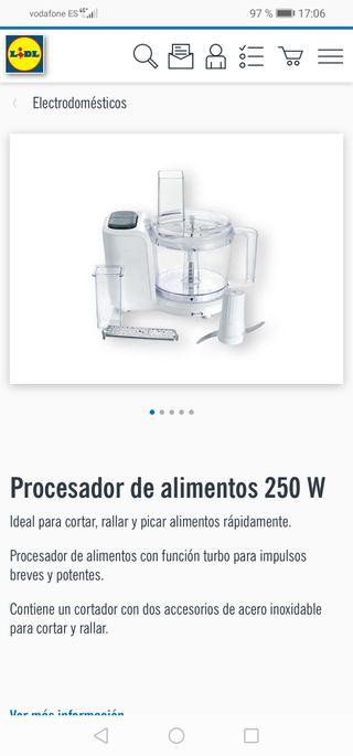 procesador alimentos lidl