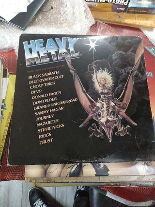 Doble vinilo ,lp recopilatorio heavy metal