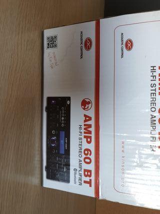 Amplificador HI-FI estéreo con reproductor MP3