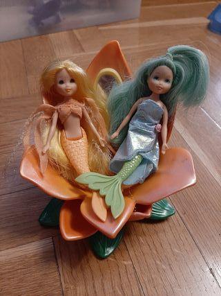 """Muñecas sirena """"Barbie Fairytopia pétalo pixies"""""""