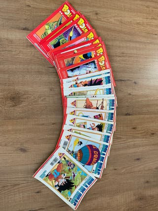 Lot de comics bola de drac