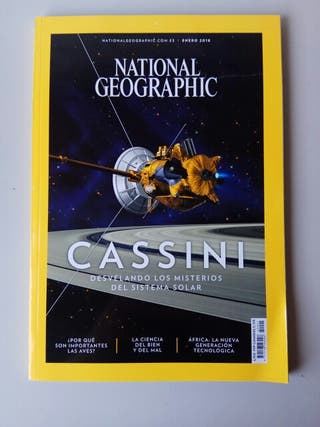 Revistas National Geographic.