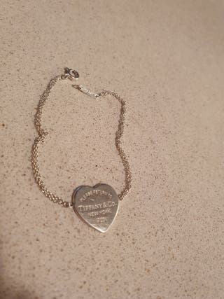 Tiffany&Co pulsera corazón de plata