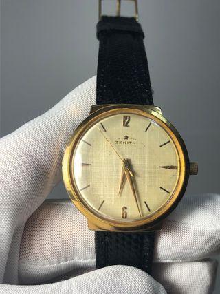 Reloj suizo original zenith año 58