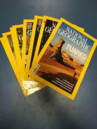 National Geographic, revistas lote de 6