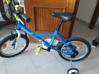 bicicleta niños de 18 pulgadas