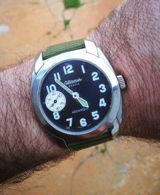 reloj suizo eta unitas 6497