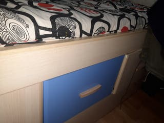 cama nido más armario
