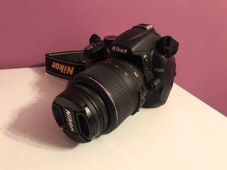 Cámara réflex Nikon D5000