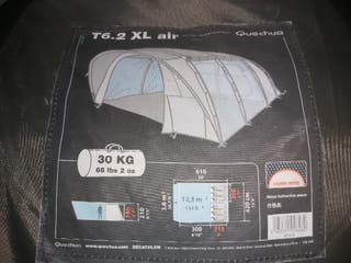 Tienda campaña familiar T6.2XL AIR