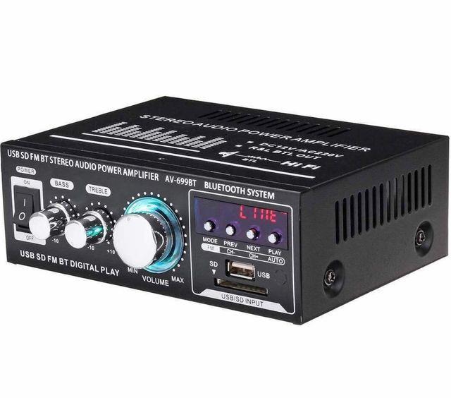 Amplificador de sonido bluetooth