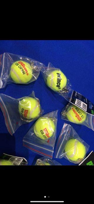 Llaveros pelota de tenis NUEVOS PRINCE US OPEN