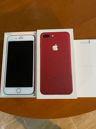 Iphone 7 Plus Red 128 Gb Impecable