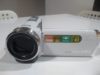 Cámara digital JVC GZ-E305we de video y fotos