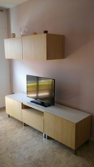 Mesa Tv y armario