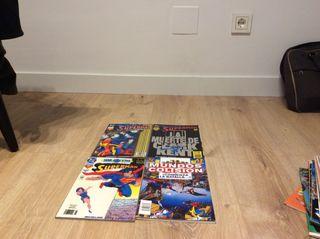Cómics superman dc