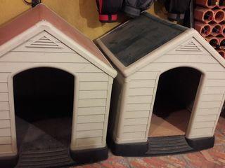 Casetas perros jardin
