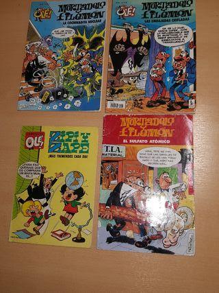 Lote de cómics de Mortadelo y Filemón + Zipi y Zap