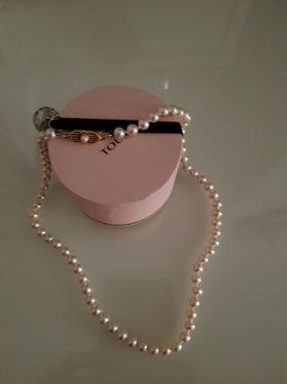 Collar de perlas majoricas