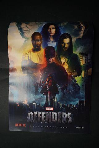 """Poster """"Los defensores"""""""