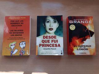 Novelas varias: drama, terror y comedia