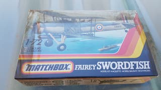 MAQUETA AVION SWORDFISH MATCHBOX 1:72