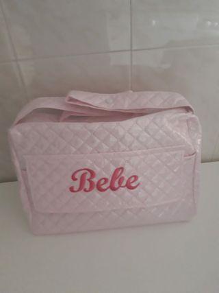 bolsa porta productos de bebé