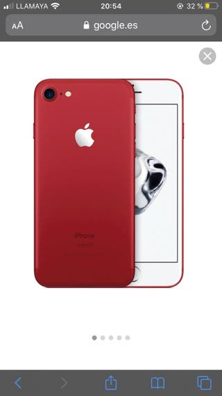 IPHONE 7 Rojo 128 GB