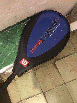 Raqueta de tenis niña
