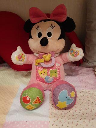 Minnie peluche mis primeras palabras