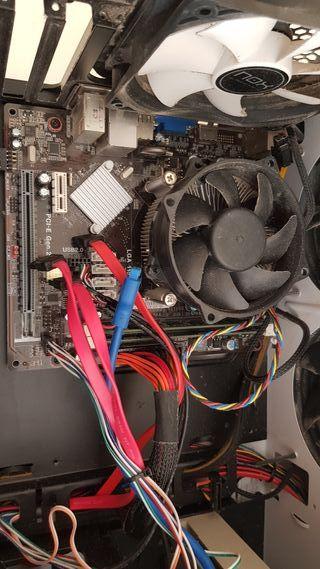 i7-3770 16 gb ram ddr3 con placa base